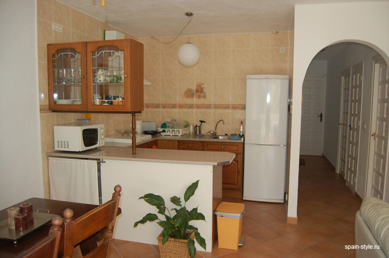 Seaview apartment for sale in Almuñecar, Kitchen