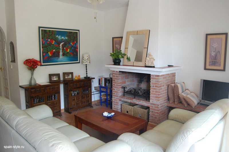 Seaview apartment for sale in Almuñecar, Living room