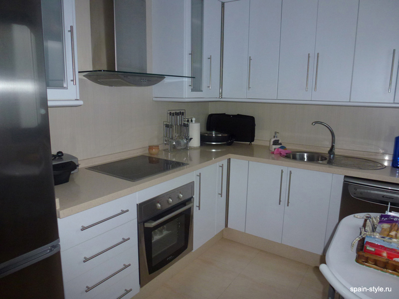 Kitchen, Beachside apartment in the Galera Playa, Almunecar