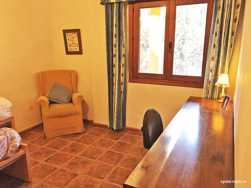 Bedroom, Country house in Granada with a tourist accommodation business
