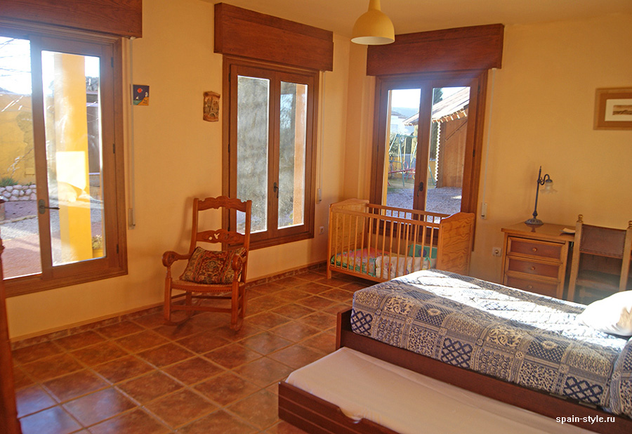 First floor bedroom,   Country house in Granada with a tourist accommodation business