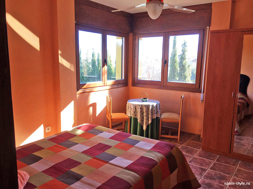 Second floor bedroom,,  Country house in Granada with a tourist accommodation business