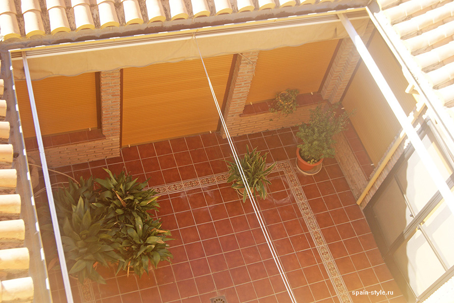 Patio, Country house in Granada with a tourist accommodation business