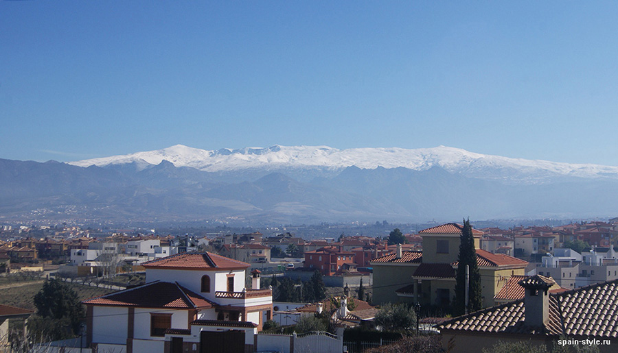 Vista de Sierra Nevada, Country house in Granada with a tourist accommodation business