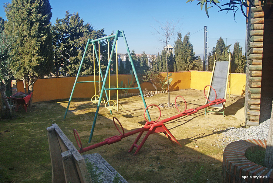 Playground,  Country house in Granada with a tourist accommodation business
