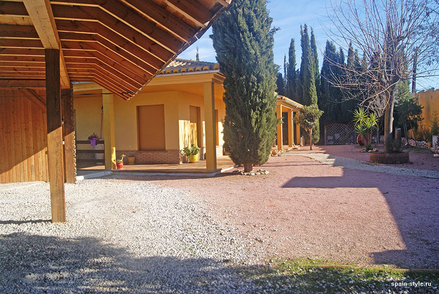 Parking, Country house in Granada with a tourist accommodation business