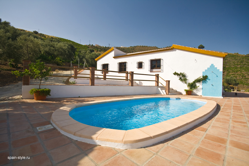 Casa rural con piscina en m laga - Casa rural spain ...