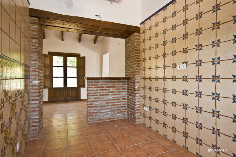 Country  house  with pool for sale in Torrox,  Kitchen