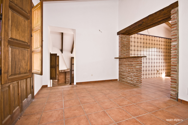 Country  house  with pool for sale in Torrox,  Kitchen - dining room