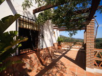Terrace, Country house for sale in Torrox, Malaga