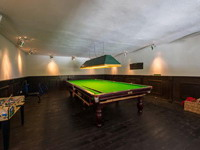 Billiards, Holiday seaview villa in Benalmádena for 12 people