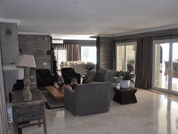 Living room, Holiday seaview villa in Benalmádena for 12 people