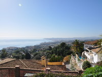 Mountains, Fuengirola and sea view, Holiday seaview villa in Benalmádena for 12 people