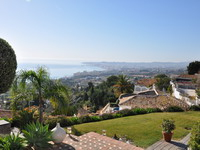 Spectacular views, Holiday seaview villa in Benalmádena for 12 people