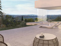 New villa in Benahavís with panoramic views