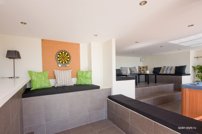 Ground floor kitchen, Seaview villa in Punta Lara, Nerja