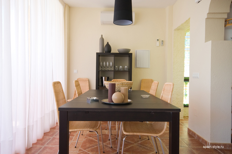 Dining room, Seaview villa in Punta Lara, Nerja