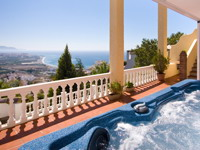 Seaview villa in Nerja, sale, rental