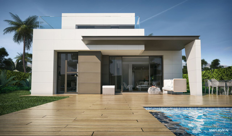 Modern villas for sale in Torre del Mar