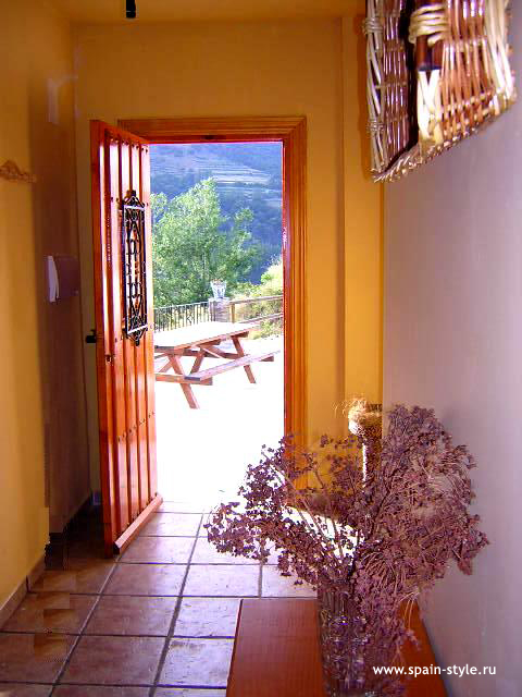 Hall,  Rural  house  for sale in Trevélez, the Alpujarra
