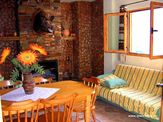 Living room,  Rural  house  for sale in Trevélez, the Alpujarra