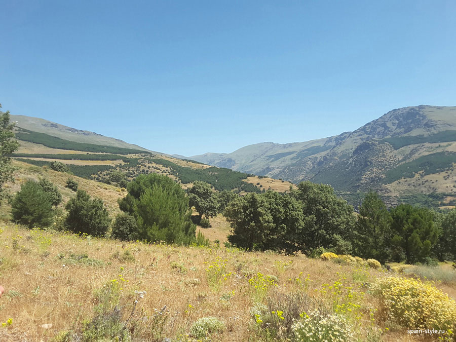 Landscapes, Country house with  7 ha land in the Sierra Nevada National Park