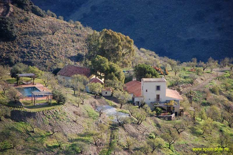 Аренда дома в горах Недвижимость в Испании
