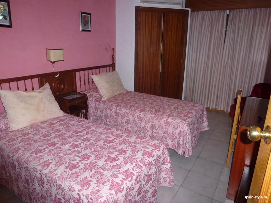 El cuarto de hotel