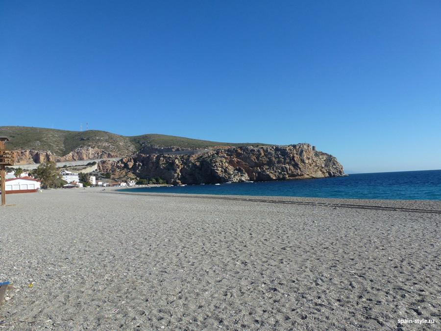 La playa cera del hotel