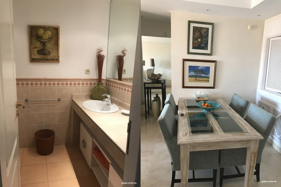 Apartment for rent in Marbella, Golden Mile, Kitchen