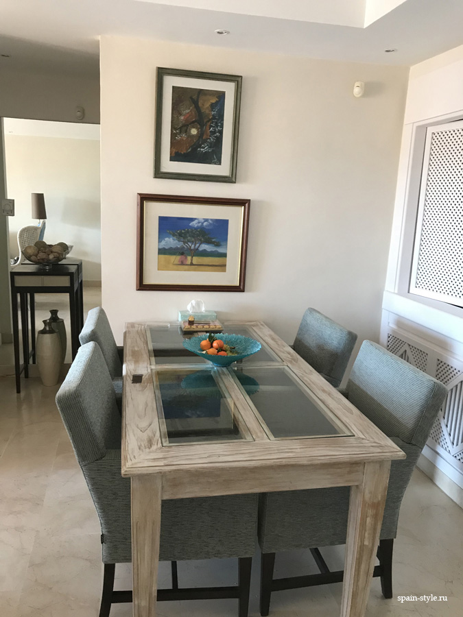 Dining room, Apartment for rent in Marbella, Golden Mile