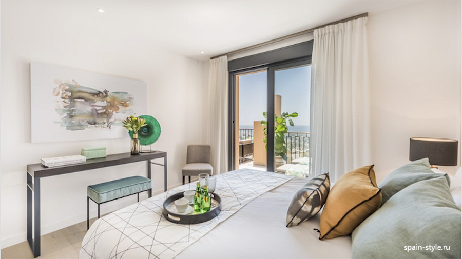Bedroom, Apartments and Penthouses direct from Developer in Benahavís