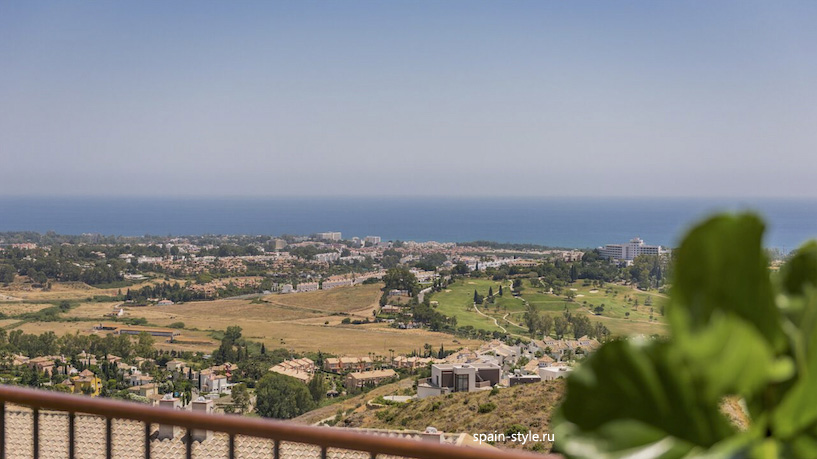 Seaview terrace, Apartments and Penthouses direct from Developer in Benahavís