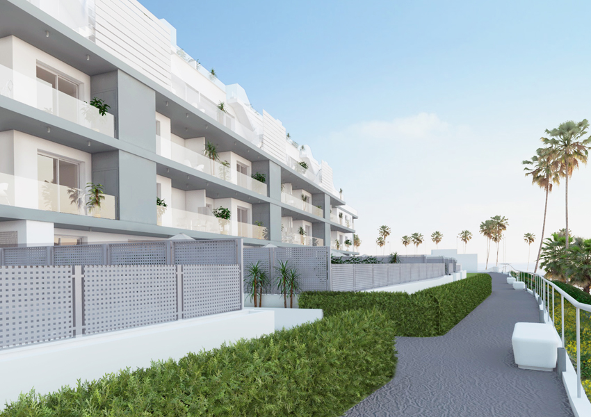 First line Sea View Apartments and Penthouses direct from Developer in Torrox, Malaga