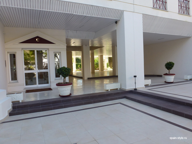 Entrance, Luxury apartment for sale  in the center of Marbella