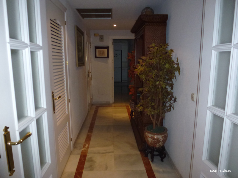 Corridor, Luxury apartment for sale  in the center of Marbellaя
