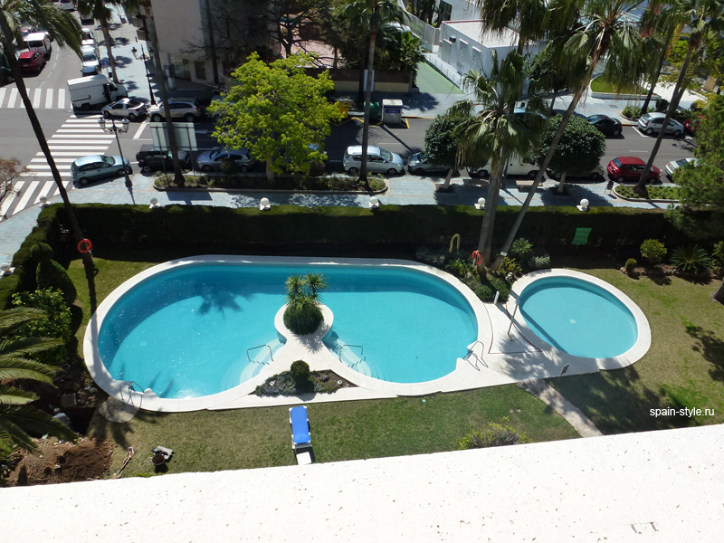 Pool, Luxury apartment for sale  in the center of Marbella