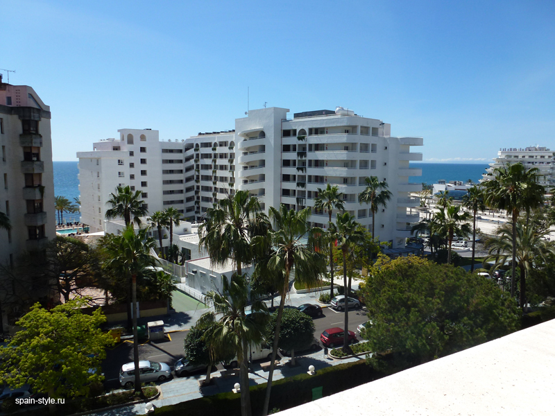View, Luxury apartment for sale  in the center of Marbella