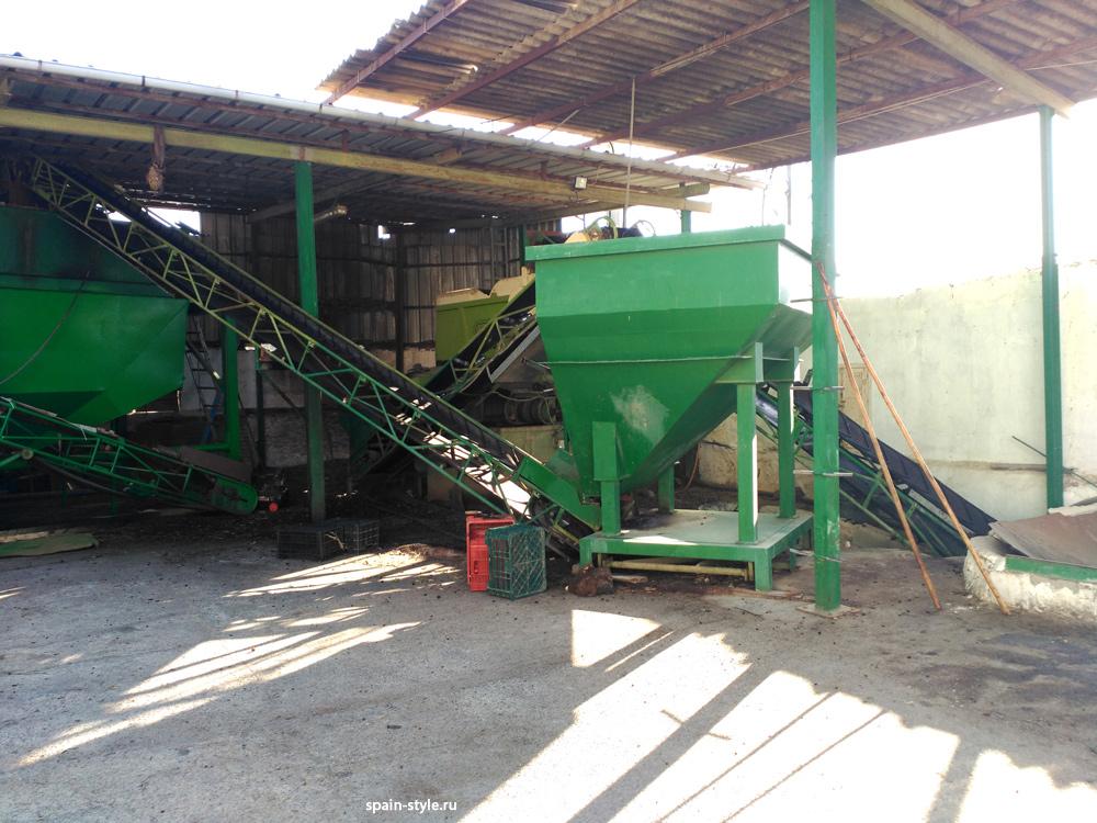 El Molino de aceite de oliva,  Molino de aceite y pequeña bodega en la Sierra cerca de Motril