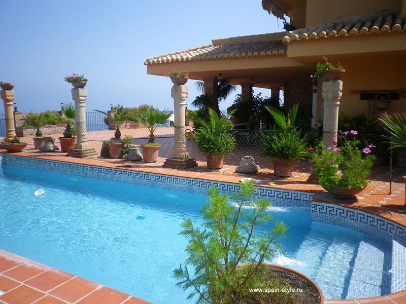 Private pool villa for rent in almunecar la herradura - Alquiler casa almunecar ...