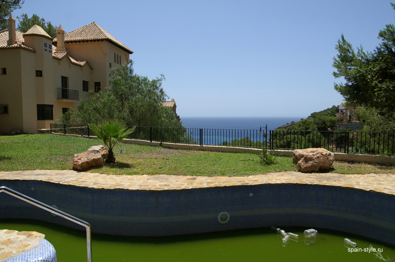 Sea view, Luxury Villa in Cerro Gordo,   Almuñécar