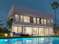 Modern new villa in Estepona