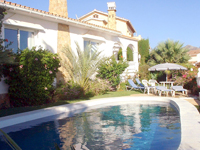 Burriana beach villa for rent, Nerja