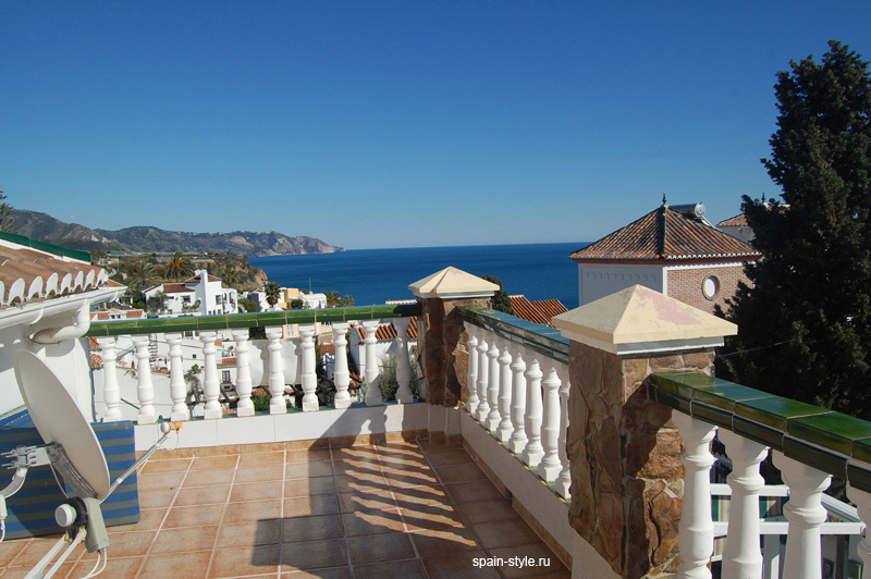 Sea view, Chalet con vistas al mar en Nerja