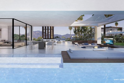 Luxury sea view villas  in the New Golden Mile