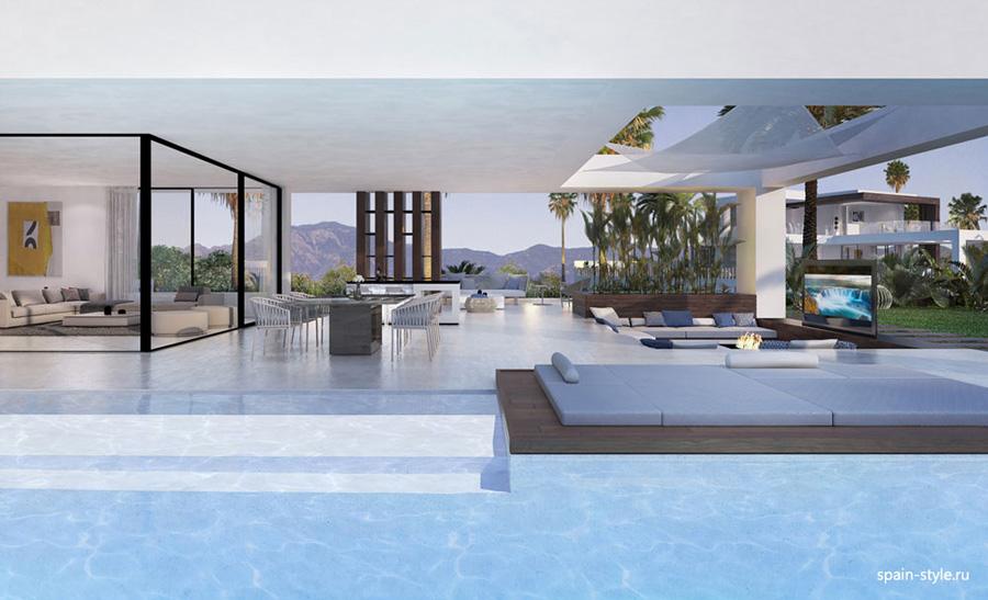 Luxury sea view villas in Estepona