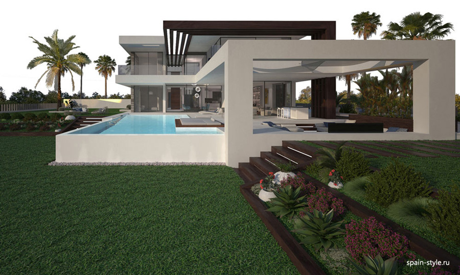 Luxury villas in Estepona