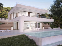New frontline golf villas  in Estepona